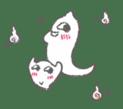 Cute-Ghosts sticker #1211538