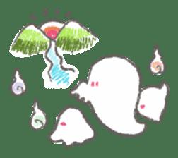 Cute-Ghosts sticker #1211549
