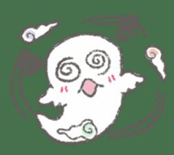 Cute-Ghosts sticker #1211553