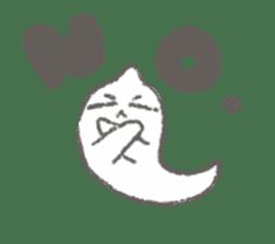 Cute-Ghosts sticker #1211556