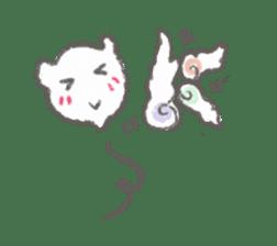 Cute-Ghosts sticker #1211557
