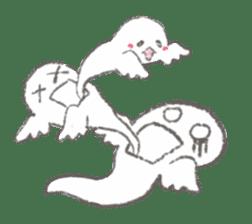 Cute-Ghosts sticker #1211558
