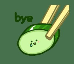 Tsukemono Lovelies ENG ver. sticker #1212963