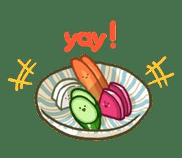 Tsukemono Lovelies ENG ver. sticker #1213000