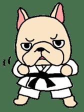 French Bulldog stickers KARATE ver. sticker #1213127
