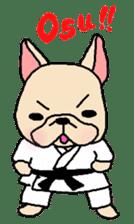 French Bulldog stickers KARATE ver. sticker #1213131