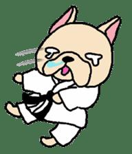 French Bulldog stickers KARATE ver. sticker #1213134