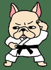 French Bulldog stickers KARATE ver. sticker #1213140
