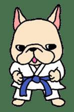 French Bulldog stickers KARATE ver. sticker #1213144
