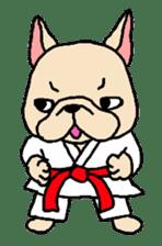 French Bulldog stickers KARATE ver. sticker #1213145