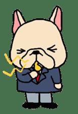 French Bulldog stickers KARATE ver. sticker #1213154