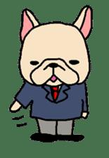 French Bulldog stickers KARATE ver. sticker #1213155