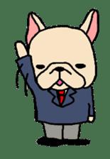 French Bulldog stickers KARATE ver. sticker #1213157