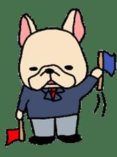 French Bulldog stickers KARATE ver. sticker #1213159