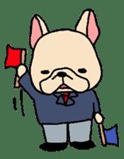 French Bulldog stickers KARATE ver. sticker #1213160