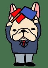 French Bulldog stickers KARATE ver. sticker #1213161