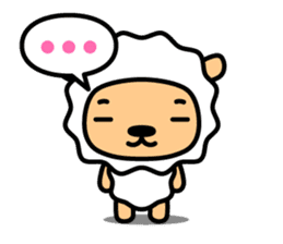 Lamb with Chinese subtitle sticker #1213584