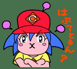 Dialect! HIROSHIMA Girl sticker #1217006