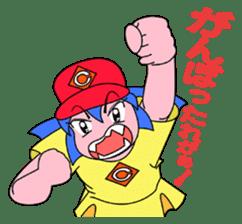 Dialect! HIROSHIMA Girl sticker #1217007