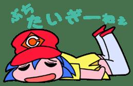 Dialect! HIROSHIMA Girl sticker #1217011
