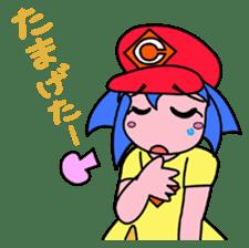 Dialect! HIROSHIMA Girl sticker #1217017