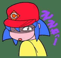 Dialect! HIROSHIMA Girl sticker #1217019