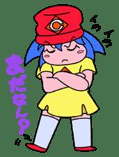 Dialect! HIROSHIMA Girl sticker #1217022