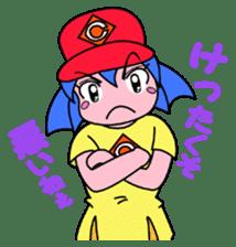 Dialect! HIROSHIMA Girl sticker #1217027