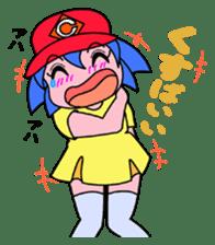 Dialect! HIROSHIMA Girl sticker #1217032