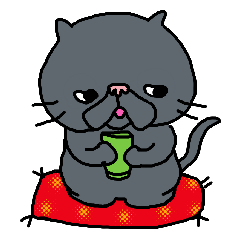Cute Cat Sticker