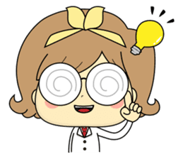 Girl's daily life sticker #1224292