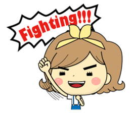 Girl's daily life sticker #1224305