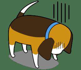 Beagle boy sticker #1225045