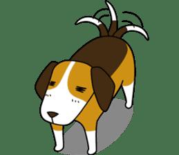 Beagle boy sticker #1225046