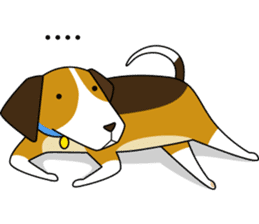 Beagle boy sticker #1225047