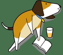 Beagle boy sticker #1225049
