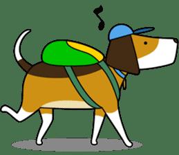 Beagle boy sticker #1225053