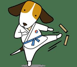 Beagle boy sticker #1225058