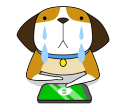 Beagle boy sticker #1225063