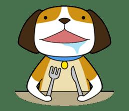 Beagle boy sticker #1225064