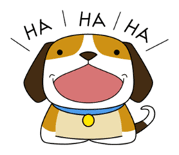 Beagle boy sticker #1225066