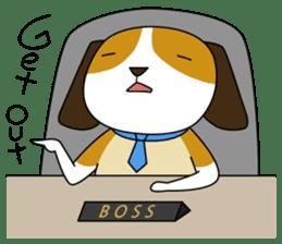 Beagle boy sticker #1225067