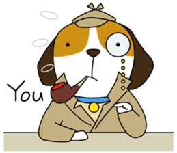 Beagle boy sticker #1225068
