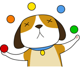 Beagle boy sticker #1225071