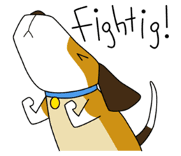 Beagle boy sticker #1225073