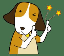 Beagle boy sticker #1225075