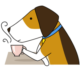 Beagle boy sticker #1225076