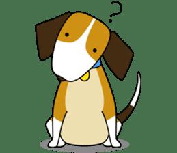 Beagle boy sticker #1225078