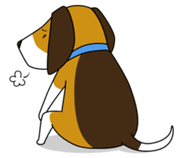 Beagle boy sticker #1225079