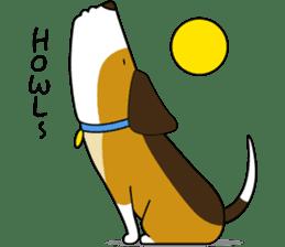 Beagle boy sticker #1225080
